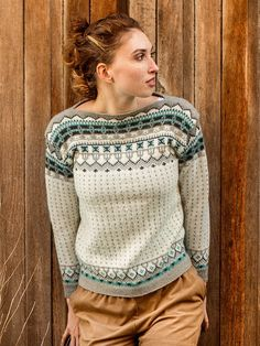 Grill knitting pattern from Dale Garn Urban Retro 320 Sweater Knitting Patterns, Knitting Designs, Knitting Stitches, Knit Patterns, Pullover Design, Sweater Design, Norwegian Knitting, Fair Isle Knitting, Yarn Shop