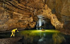 Exploring The Gouffre Berger (cave) in the Vercors region of France. At just over 1000m deep, The Gouffre Berger is recognised as one of the best sport trips in the world.