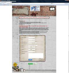 Acampa IDL 2012 - Site inscrição online