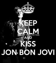Jon Bon Jovi kiss