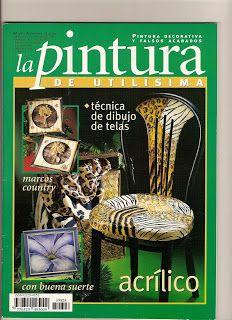 Revistas de Manualidades Para Descargar: La pintura de Utilisima Nº 28