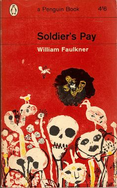William Faulkner, Soldier's Play. Cover by André François.