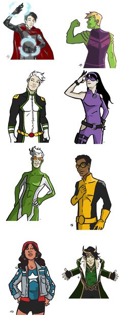 Young Avengers                                                                                                                                                     More