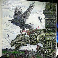 """#gameofthrones #gameofthronescoloringbook #gargoyle #gameofthronescolouringbook…"