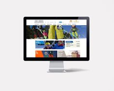 Site internet de l'OT de Font-Romeu par l'agence double-id.com Communication Agency, L Office, Site Internet, Website, Advertising Agency