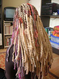 crocheted dreadlocks One Luv +dreadstop / @DreadStop #dreadlocks