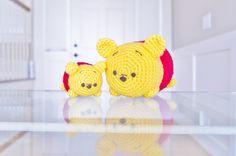 Winnie the Pooh Tsum Tsums - Free Amigurumi Pattern - http://mybackyardmonsters.tumblr.com/post/109380135271/poohpattern