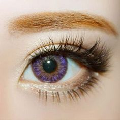 GEO Tri Color Colored Contacts are perfect for dark brown or almost black eyes due to the high opacity design! #coloredcontacts #circlelens #eyecandys #sweetenupyourlook