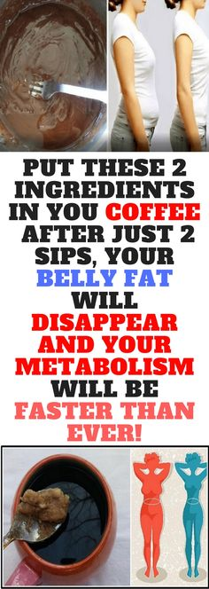 Put These 2 Ingredients In You Coffee. After Just 2 Sips, Your Belly Fat Will Disappear And Your Metabolism Will Be Faster Than Ever!