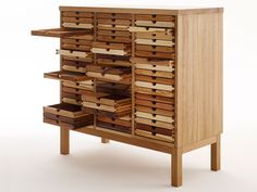 Cassettiera in legno SIXTEMATIC COLLECTOR - sixay furniture