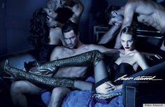 Oh well, the boots are hot!  Brian Atwood Ads Reportedly Banned From Madison Avenue, Taxi TVs