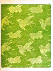Design - Paper - Japanese birds