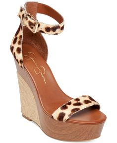 Jessica Simpson Arista Two-Piece Espadrille Platform Wedge Sandals - Espadrilles - Shoes - Macy's