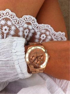 Marc Jacobs Blade Rose Gold Pink Dial Watch