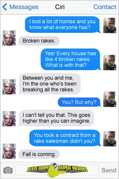 Texts From Superheroes : geralt & ciri