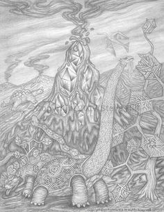 After the Blast #pencildrawing #surreal #fantasy