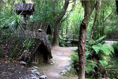 Ko Tane Living Maori Village. Arts & Culture. Christchurch, New Zealand.