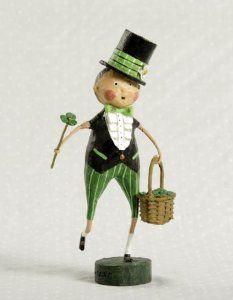 Lori Mitchell Shay O-Shamrock St. Patrick's Day Figurine