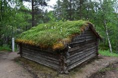 Discover Siida Museum in Inari, Finland: A beautiful Arctic museum and nature center preserves the culture of the Sámi people. Nature Center, Garden Bridge, Finland, Firewood, Museum, Outdoor Structures, Homes, Places, Art