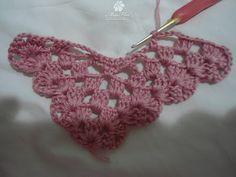 Vânia Alves /Handmade: PAP lenço em croche