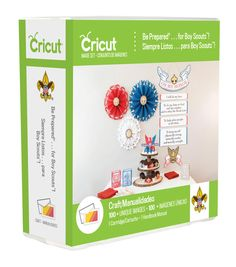 Provo Craft-Cricut Shape Cartridge: Be Prepared.. For Boy Scouts. This everyday Cartridge features a variety Boy Scout images for your paper crafting projects. Cricut cartridges were designed for the