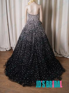 LJ211 Luxury sparkles black evening dress celebrity prom gowns with bling bling
