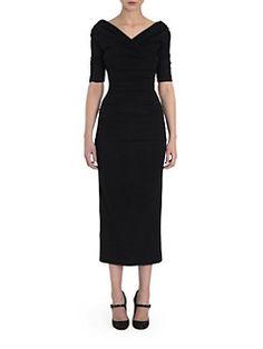 Dolce & Gabbana - Off-Shoulder Ruched Dress
