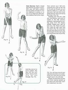 The Cane Exercise: Golf Lessons by National Golf Foundation. Find more golf lessons at #lorisgolfshoppe. Click the photo now!