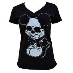 Womens Sad Mouse by Josh Stebbins Gothic Skeleton Black T Shirt Indie Tattoo, Tattoo Clothing, Art Clothing, Gothic Clothing, Apparel Clothing, Gothic Shirts, Tattoo T Shirts, Tattoos, Punk Rock Fashion