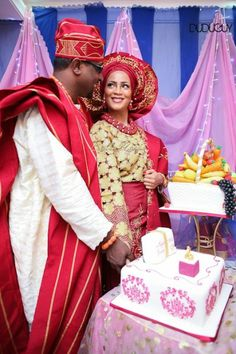 Maroon and Gold | BellaNaija Weddings 2014 - DuduGuy Photography - Lagos Yoruba Wedding - Milinda & Jide -IMG_6480