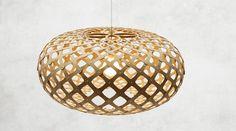 Moderne Designerlampe Kina von David Trubridge