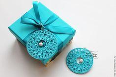 Как связать чудесные серьги-паутинки - Ярмарка Мастеров - ручная работа, handmade