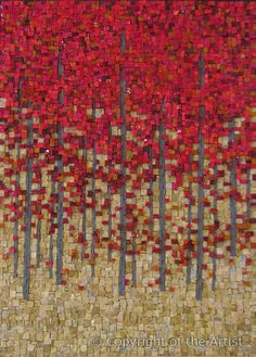 Red Maples by Terri Borges