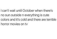 AND I CAN WEAR MY SWEATERS WITHOUT DYING FROM A HEATSTROKE