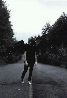 The Hohlwen are ethereally beautiful fallen angels made of shadow that must live off the life force of others and witches are their favorite meal. // Zyne Legacy (Contemporary Fantasy Books)