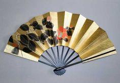 Folding fan - kyo sensu - from Japan.