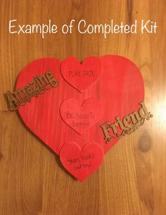 Kids Character Craft Kit-February-Showing Empathy Towards Friends