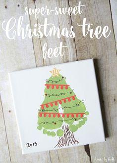 Super-Sweet Christmas Tree Feet