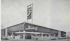 Steinberg's, avenue Verdun et rue Brault, Verdun (Montréal), 1955 Old Montreal, Hui, Geography, The Past, Photos, Canada, Memories, Paris, Heart
