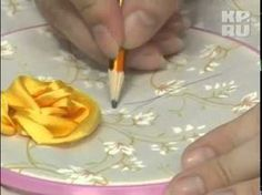 I ❤ ribbon embroidery . . . Learn how to embroidery tapes