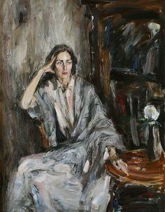 Eugenia Volk Portrait - Anatoly Shumkin