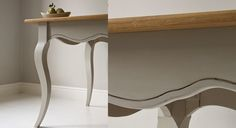 Adoptez le style Gustavien revisité en customisant votre table en bois avec une teinte sobre et chic grâce notre tutoriel facile pour repeindre une table. Le matériel – du papier de verre ...