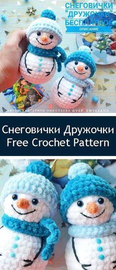 Mesmerizing Crochet an Amigurumi Rabbit Ideas. Lovely Crochet an Amigurumi Rabbit Ideas. Crochet Snowman, Crochet Amigurumi, Amigurumi Patterns, Crochet Dolls, Crochet Baby, Crochet Christmas Gifts, Christmas Crochet Patterns, Holiday Crochet, Crochet Gifts