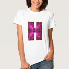 Alphabet  H HH HHH  :  Sparkle Theme Star Circle Tees