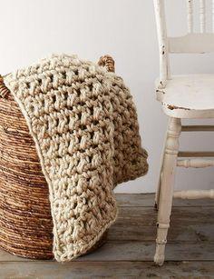 Easy Going Crochet Blanket