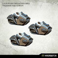 This set contains three Legionary Breacher Bike.  This set is 10% cheaper than separate models x3