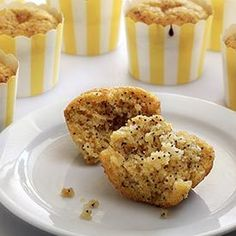 Paleo Lemon Poppy Seed Muffins Recipe  This looks really good but would need a work around for the eggs.