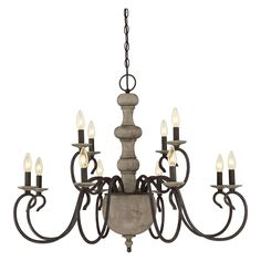 Quoizel Castile CS5012RK Chandelier | from hayneedle.com