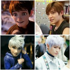 Taeyong is the reincarnation of Jack Frost