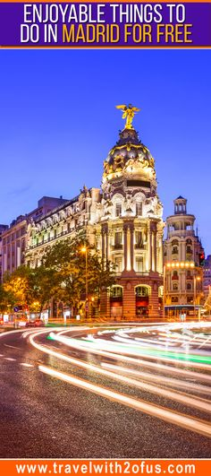 Free things to do in Madrid Spain. If you're planning to visit Madrid on a budget, then you will definitely want to check out these free things you can do in the Spanish capital city.